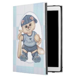 "BASEBALL CAT BLEU CUTE iPad Pro iPad Pro 12.9"" Case"