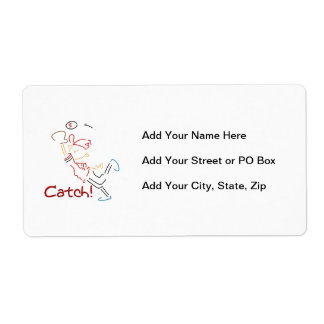 Baseball Catch T-shirts and Gifts Label