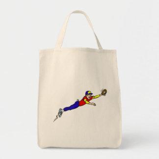 Baseball Catch Tote Bag