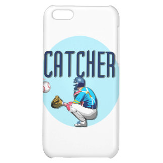Baseball Catcher and Gifts iPhone 5C Cases