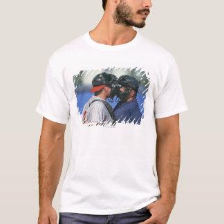 Baseball Catcher and Umpire Arguing T-Shirt