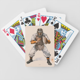 Baseball Catcher Bicycle Playing Cards