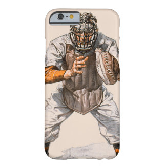 Baseball Catcher Barely There iPhone 6 Case
