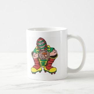Baseball Catcher Classic White Coffee Mug