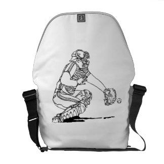 Baseball Catcher Courier Bags