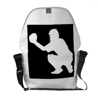 Baseball Catcher Courier Bag