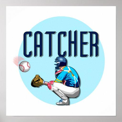 Baseball Catcher T-shirts and Gifts Print