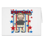 BASEBALL Catcher Tshirts and Gifts Greeting Card