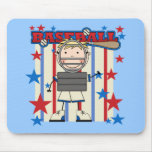 BASEBALL Catcher Tshirts and Gifts Mouse Pad