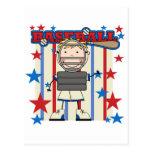 BASEBALL Catcher Tshirts and Gifts Postcard