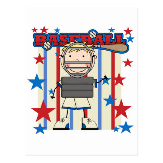 BASEBALL Catcher Tshirts and Gifts Postcard