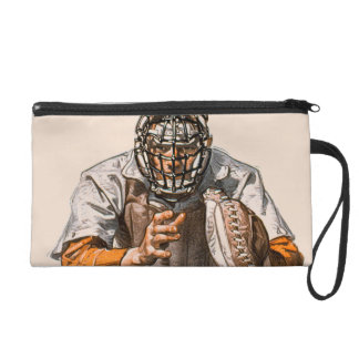 Baseball Catcher Wristlet Purse