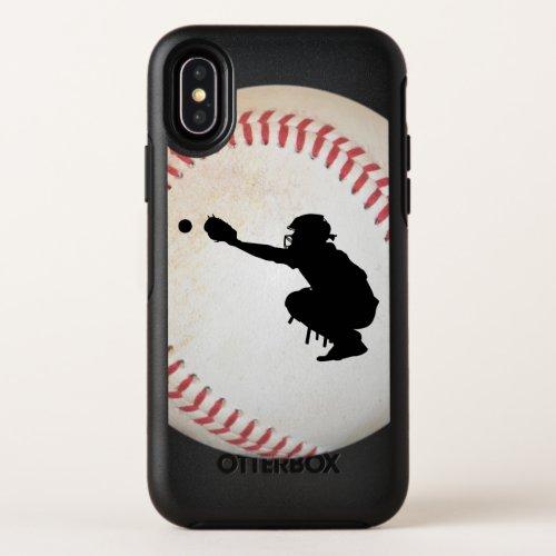 Baseball Cather Silhouette