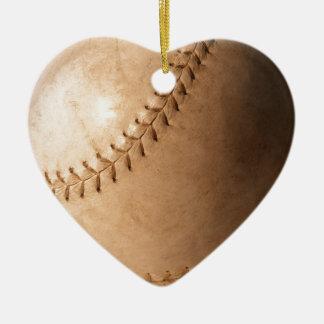 Baseball Ceramic Ornament