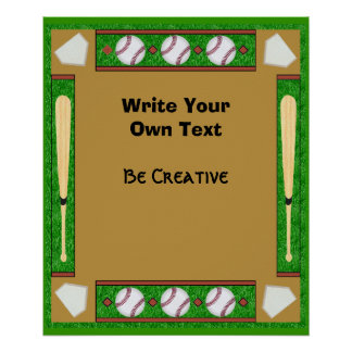 Baseball Certificate Print