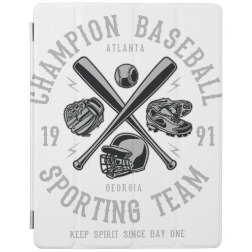 Baseball Champion iPad Smart Cover