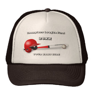 Baseball Champions League Final Trucker Hat
