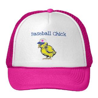 Baseball Chick Baseball Cap Hat
