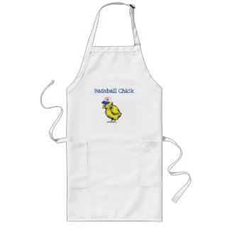 Baseball Chick Design Apron