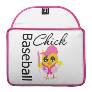 Baseball Chick MacBook Pro Sleeve