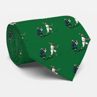 baseball christmas gift neck tie