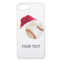 baseball christmas iPhone 8/7 case