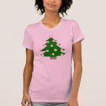 Baseball Christmas Tree Tshirt