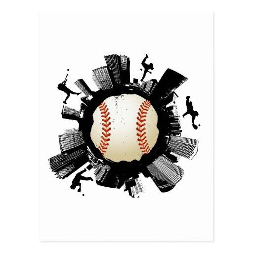 Baseball City Postcard