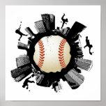 Baseball City Posters