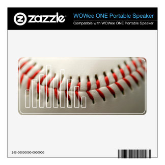 Baseball close up decals for WOWee speakers