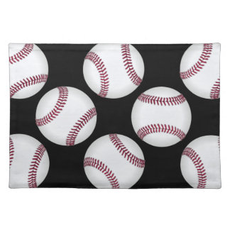 Baseball Cloth Placemat