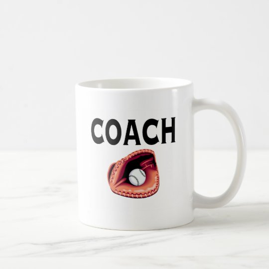 Baseball Coach (Ball and Glove) Coffee Mug