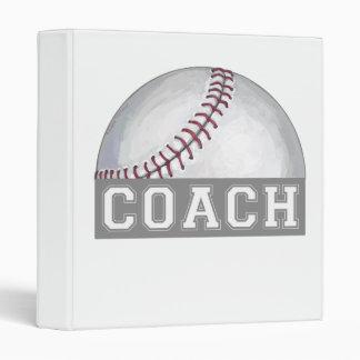 Baseball Coach Binder