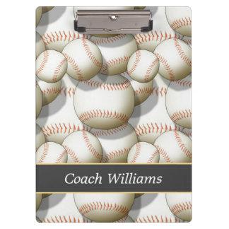 Baseball Coach Clipboards
