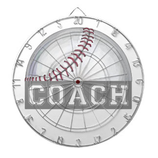 Baseball Coach Dart Board