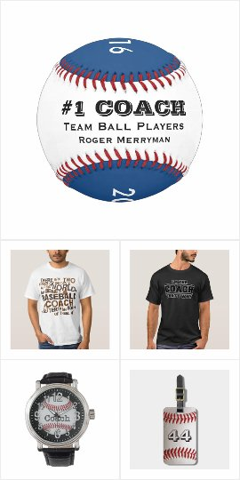 Gift ideas for baseball coach