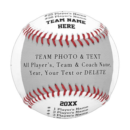 Baseball Coach Gifts, Team Photo, Player's, Coach
