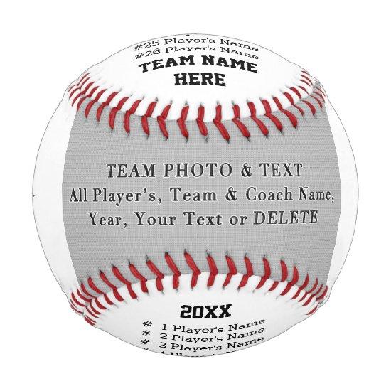 Baseball Coach Gifts, Team Photo, Player's, Coach