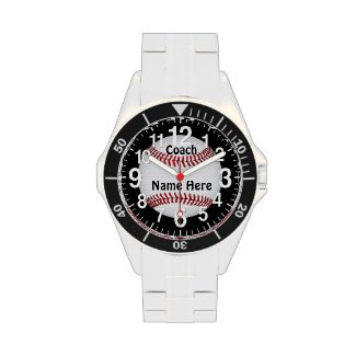 Baseball Coach Gifts Under 100 PERSONALIZED Wrist Watches