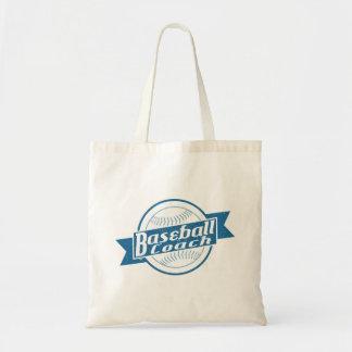 Baseball Coach Grocery Bag