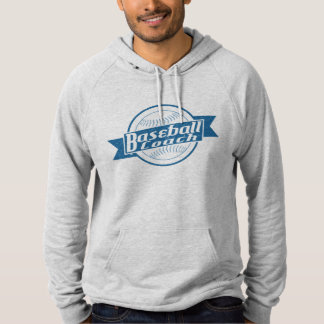 Baseball Coach Hooded Pullover