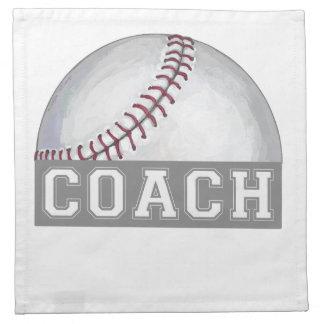 Baseball Coach Napkin