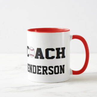 Baseball Coach - Personalized Mug
