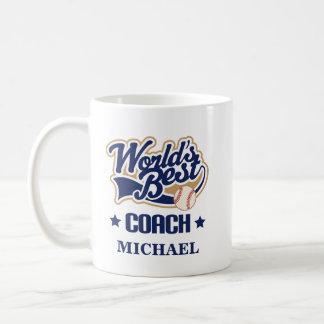 Baseball Coach Personalized Mug Gift