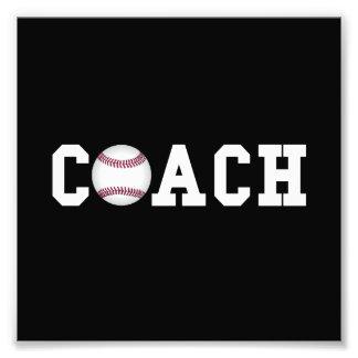 Baseball Coach Photo Print