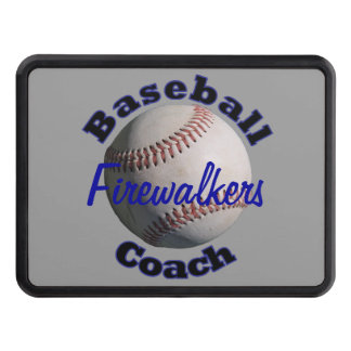 Baseball Coach Trailer Hitch Cover