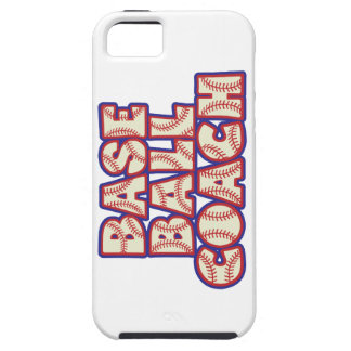 BASEBALL COACH, red-white-blue iPhone 5 Case