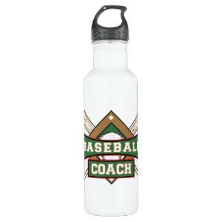 Baseball Coach Stainless Steel Water Bottle