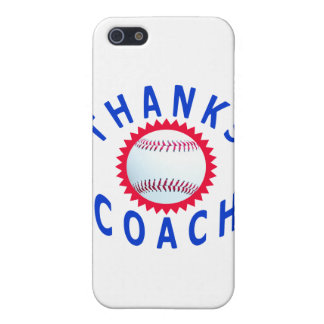 Baseball Coach Thank You Cards and Gifts iPhone SE/5/5s Cover