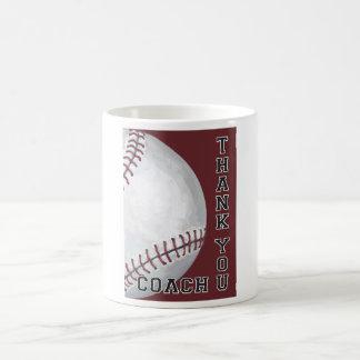 Baseball Coach Thank You Coffee Mug